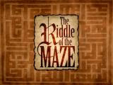 The Riddle of the Maze Macintosh Title screen