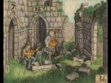 The Riddle of the Maze Macintosh A band plays among the ruins