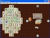 Swift Classics: Mahjongg Magic For Windows Windows The beginning of a game. The player may optionally choose to view the preliminaries in which dice are rolled to determine the direction of the winds and the building of the mountain