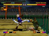Bloody Roar II PlayStation Uriko make a 13 hit combo and make Shina lose almost half energy