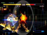 Bloody Roar II PlayStation Long finishes with an special combo move