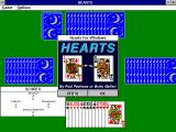 Hearts for Windows Windows 3.x Starting a game.