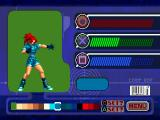 The King of Fighters '99: Millennium Battle PlayStation Color Edit mode, you can change the colors of each character, for example, you can modify this character onto Orochi Leona skin