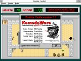 Zombie Castle Windows 3.x About screen (shareware version).