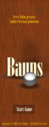 Bauns Browser Starting screen