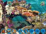 Barbie: Ocean Discovery Windows The game begins. The reef is very colourful and clicking on the fishes, shell fish and many other underwater objects triggers a sound or an action of some sort