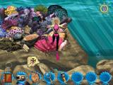 Barbie: Ocean Discovery Windows The reward for repairing the reef is a new piece of the map
