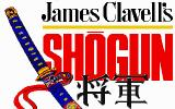 James Clavell's Shogun DOS Title screen
