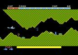 Super Cobra Atari 5200 Blasting your way through a narrow cave