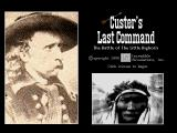 Custer's Last Command DOS Title screen
