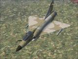 International Fighters Windows Flight Simulator X: This is the French Air Force's Mirage 2000 in its brown camouflage livery