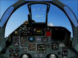 International Fighters Windows Flight Simulator 2004: This is the SU-33 Flanker's 2D cockpit