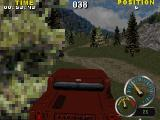 Test Drive: Off-Road 2 Windows The other cars quickly disappear into the distance. The landscape looks awful, the green splodge is a bush, when compared to a modern game.