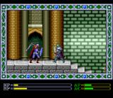 Exile TurboGrafx CD Swordfighting in Templar headquarters