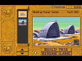 Dune II: The Building of a Dynasty Acorn 32-bit Construction menu