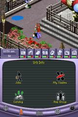 The Urbz: Sims in the City Nintendo DS Keep your living space tidy, or your character will get stressed.