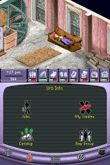 The Urbz: Sims in the City Nintendo DS Getting tired? Crash on your favorite couch.
