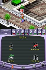 The Urbz: Sims in the City Nintendo DS Let any of your meters get too low, and your character will let you have it.