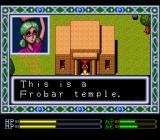 Exile TurboGrafx CD A Hindu girl greets you in the famed city of Ayodhya. I wonder where the green hair comes from