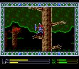 Exile TurboGrafx CD It's time to visit some tropical jungle. Beautiful butterflies attack as Sadler jumps from branch to branch