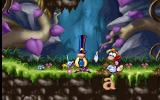 Maths and English with Rayman: Volume 2 DOS At the start of each activity the Wizard explains what Rayman has to do. He will disappear but the instructions can be repeated by returning to this spot.
