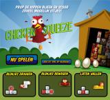 Chicken Squeeze Browser Starting screen