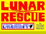 Lunar Rescue ZX Spectrum Title screen