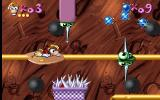 Maths and English with Rayman: Volume 3 DOS As the player progresses it's not just the questions that get harder. Here the pointy things must be avoided.