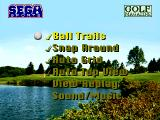 Golf Magazine presents 36 Great Holes starring Fred Couples SEGA 32X Options