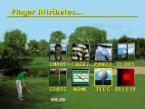 Golf Magazine presents 36 Great Holes starring Fred Couples SEGA 32X Edit Player Attributes