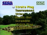 Golf Magazine presents 36 Great Holes starring Fred Couples SEGA 32X Play Menu