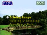 Golf Magazine presents 36 Great Holes starring Fred Couples SEGA 32X Practice Menu