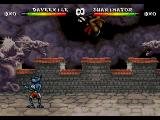 Brutal: Above the Claw SEGA 32X A flipping attack