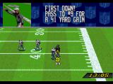 NFL Quarterback Club SEGA 32X Completed Play
