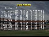 RBI Baseball '95 SEGA 32X Team overview