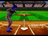RBI Baseball '95 SEGA 32X Defense practice