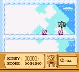 Kirby's Adventure NES end of level
