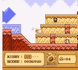 Kirby's Adventure NES fireball