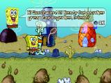 SpongeBob SquarePants: SuperSponge PlayStation SpongeBob is speaking with Squidward