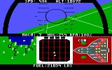 F-15 Strike Eagle PC Booter Flying. (EGA version)