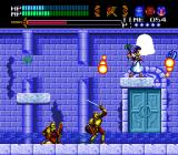 Valis III TurboGrafx CD One of the tougher challenges involves hitting this bell enough times, all the while avoiding these pesky knights. Valna here puts some protecting orbs