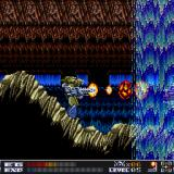 Aquales Sharp X68000 Rocky cave, waterfall, and a flamethrower in my hands. Ahhh... vacation