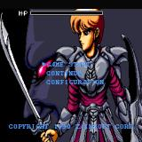 Valusa no Fukushū     Sharp X68000 Main menu
