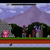 Valusa no Fukushū     Sharp X68000 The battle near the well... doesn't go well