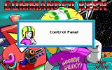 Commander Keen 5: The Armageddon Machine DOS Title screen + announcement before each stage or menu change (EGA)