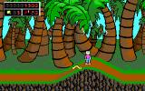 Commander Keen 4: Secret of the Oracle DOS Lovely palm trees, nice weather, a stun gun in my hands... life is good! (EGA)
