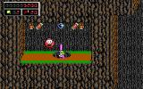 Commander Keen 4: Secret of the Oracle DOS I carefully stick my head out. This enemy is guarding lots of goodies! (EGA)