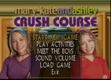 Mary-Kate and Ashley: Crush Course Windows The game's main menu