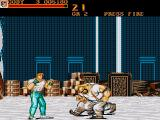 Final Fight Amiga In a warehouse
