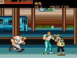 Final Fight Amiga The subway